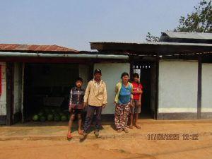 U Ah Jone and his family